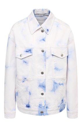 Женская джинсовая куртка STELLA MCCARTNEY белого цвета, арт. 601802/S0H09 | Фото 1