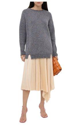 Женская свитер STELLA MCCARTNEY серебряного цвета, арт. 601744/S2197   Фото 2