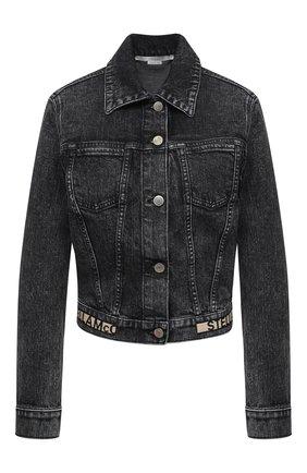 Женская джинсовая куртка STELLA MCCARTNEY серого цвета, арт. 600260/S0H05   Фото 1