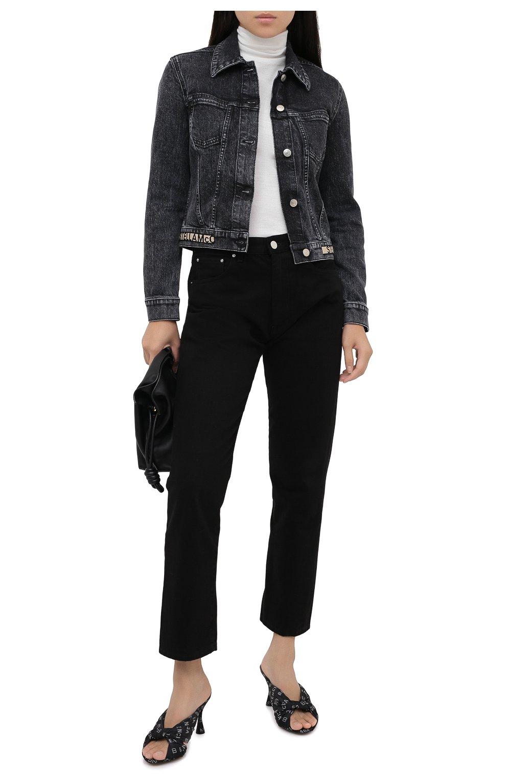 Женская джинсовая куртка STELLA MCCARTNEY серого цвета, арт. 600260/S0H05   Фото 2