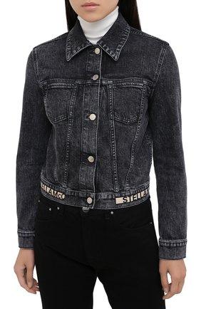 Женская джинсовая куртка STELLA MCCARTNEY серого цвета, арт. 600260/S0H05   Фото 3