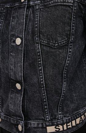 Женская джинсовая куртка STELLA MCCARTNEY серого цвета, арт. 600260/S0H05   Фото 5