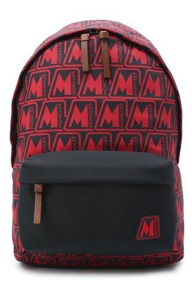 Мужской текстильный рюкзак pierrick MONCLER красного цвета, арт. F2-09A-5A704-00-02SL3 | Фото 1
