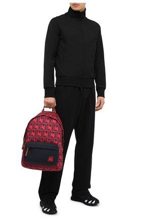 Мужской текстильный рюкзак pierrick MONCLER красного цвета, арт. F2-09A-5A704-00-02SL3 | Фото 2