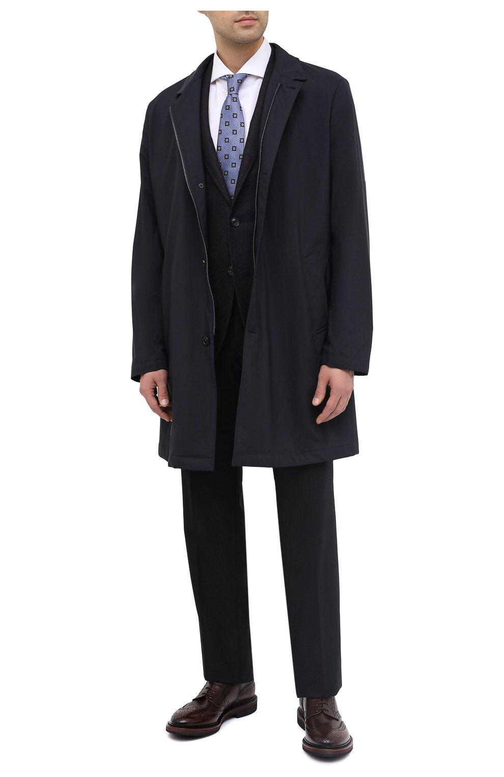 Мужской шерстяной пиджак CANALI темно-синего цвета, арт. 13275/CU00034/111 | Фото 3