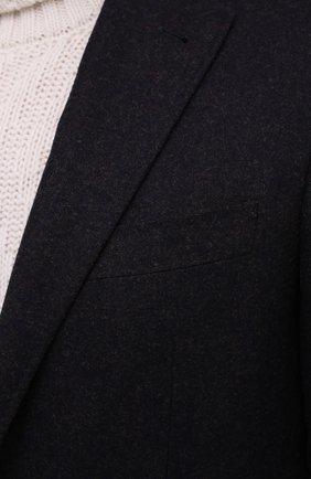 Мужской шерстяной пиджак CANALI темно-синего цвета, арт. 13275/CU00034/111 | Фото 6