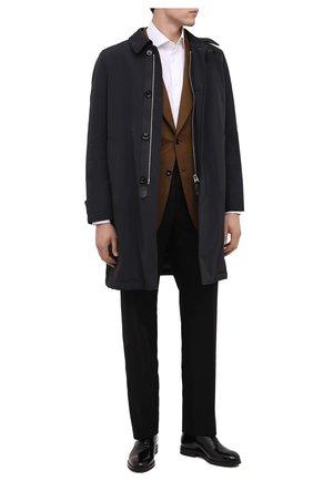 Мужские кожаные оксфорды BRUNELLO CUCINELLI черного цвета, арт. MZUSHAK937 | Фото 2