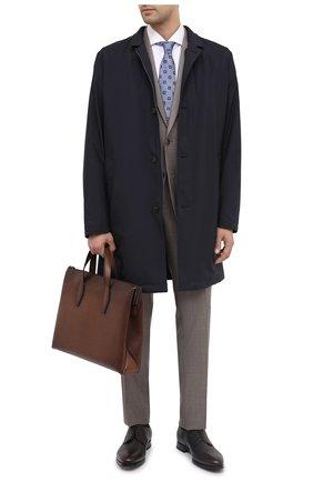 Мужская кожаная сумка для ноутбука BERLUTI коричневого цвета, арт. M173373 | Фото 2