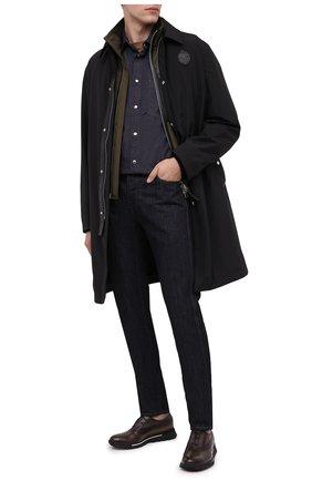 Мужские джинсы BERLUTI темно-синего цвета, арт. R18TDU38-004 | Фото 2