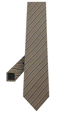 Мужской шелковый галстук TOM FORD бежевого цвета, арт. 8TF13/XTF | Фото 2