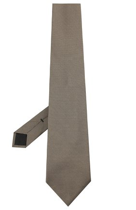 Мужской шелковый галстук TOM FORD бежевого цвета, арт. 8TF05/XTF | Фото 2