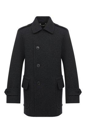 Мужской пальто DRIES VAN NOTEN серого цвета, арт. 202-20515-1197 | Фото 1