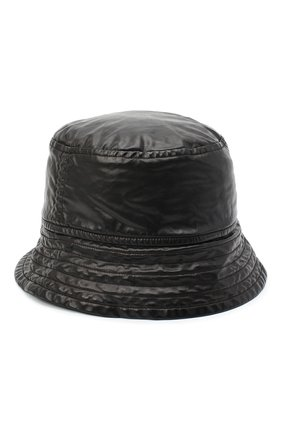 Мужская панама DRIES VAN NOTEN черного цвета, арт. 202-20605-1176 | Фото 2