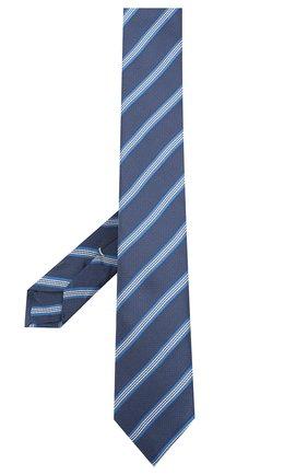 Мужской галстук BOSS темно-синего цвета, арт. 50442793 | Фото 2