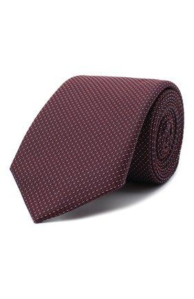 Мужской галстук BOSS красного цвета, арт. 50442737 | Фото 1