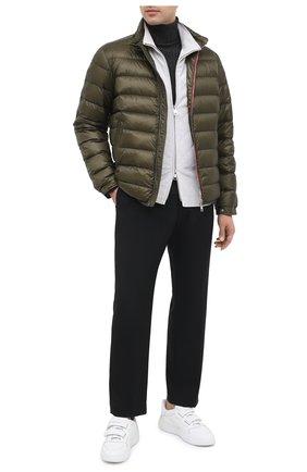 Мужская пуховая куртка 2 moncler 1952 MONCLER GENIUS хаки цвета, арт. F2-092-1A527-00-C0643 | Фото 2