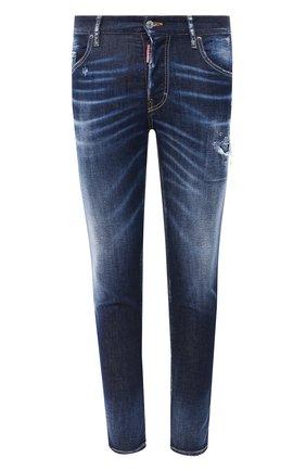 Мужские джинсы DSQUARED2 синего цвета, арт. S74LB0793/S30685 | Фото 1