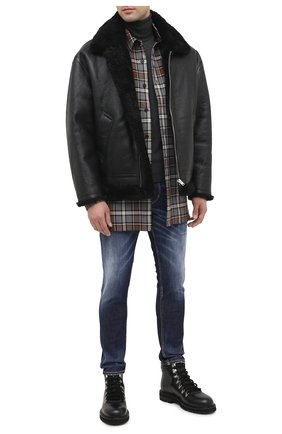 Мужские джинсы DSQUARED2 синего цвета, арт. S74LB0793/S30685 | Фото 2