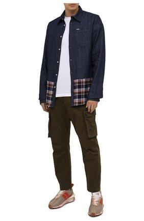 Мужская джинсовая рубашка DSQUARED2 синего цвета, арт. S71DM0418/S30712 | Фото 2
