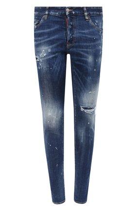 Мужские джинсы DSQUARED2 синего цвета, арт. S71LB0773/S30342 | Фото 1