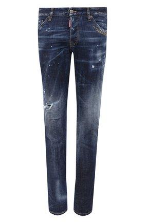 Мужские джинсы DSQUARED2 синего цвета, арт. S71LB0779/S30664 | Фото 1