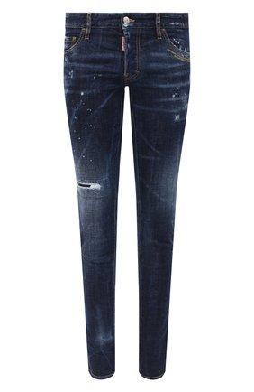 Мужские джинсы DSQUARED2 синего цвета, арт. S71LB0781/S30664 | Фото 1