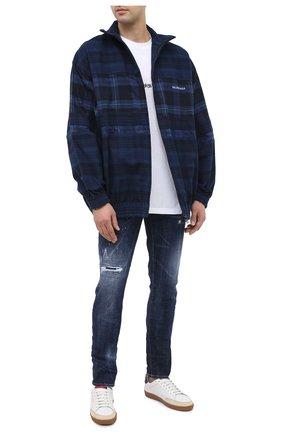 Мужские джинсы DSQUARED2 синего цвета, арт. S71LB0781/S30664 | Фото 2