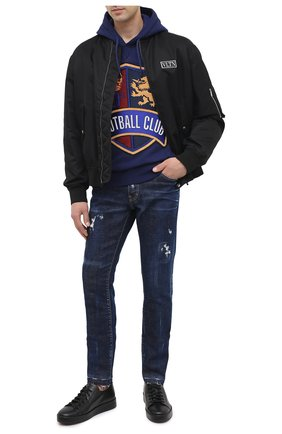 Мужские джинсы DSQUARED2 синего цвета, арт. S71LB0790/S30342 | Фото 2