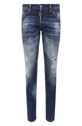 Мужские джинсы DSQUARED2 синего цвета, арт. S71LB0795/S30342 | Фото 1
