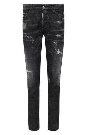 Мужские джинсы DSQUARED2 черного цвета, арт. S71LB0800/S30357 | Фото 1