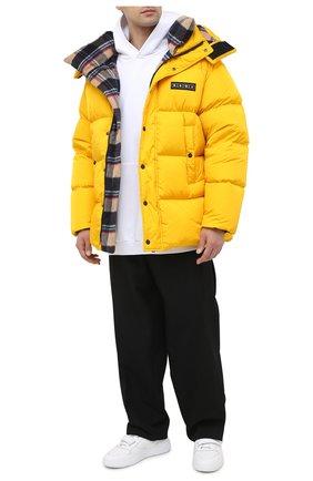 Мужская пуховик DSQUARED2 желтого цвета, арт. S74AM1102/S53140 | Фото 2
