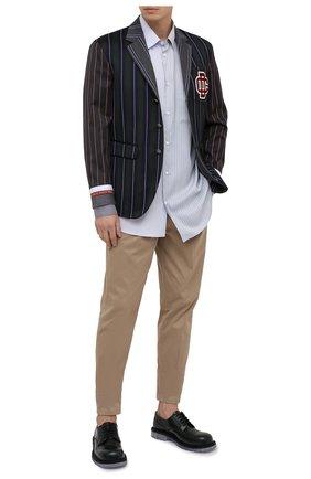 Мужской пиджак из шерсти и хлопка DSQUARED2 разноцветного цвета, арт. S74BN1008/S52989 | Фото 2