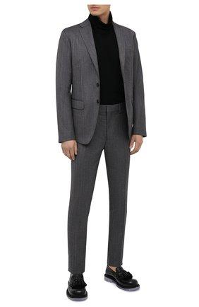 Мужской шерстяной костюм DSQUARED2 серого цвета, арт. S74FT0409/S53025 | Фото 1
