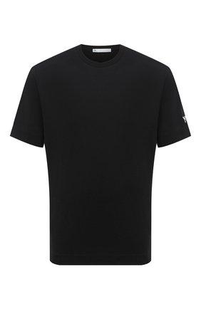 Мужская хлопковая футболка Y-3 черного цвета, арт. GK4362/M | Фото 1