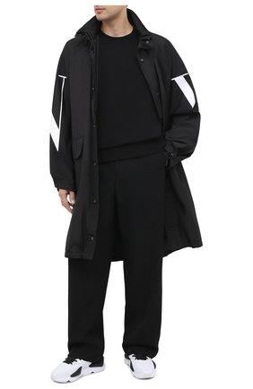 Мужской хлопковый свитшот Y-3 черного цвета, арт. FN3371/M | Фото 2
