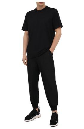 Мужская хлопковая футболка Y-3 черного цвета, арт. FN3348/M | Фото 2