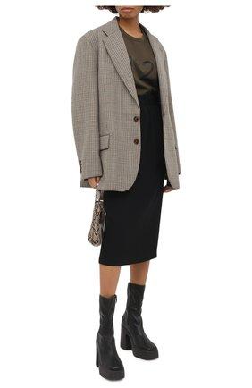 Женская юбка N21 черного цвета, арт. 20I N2M0/C041/5336 | Фото 2