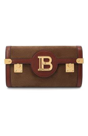 Женская поясная сумка bbuzz 23 BALMAIN коричневого цвета, арт. UN0S595/LCCU | Фото 1