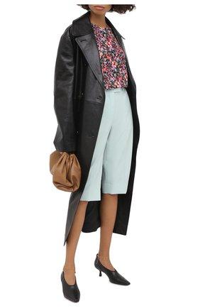 Женские шерстяные шорты GIVENCHY зеленого цвета, арт. BW50LD12JF | Фото 2
