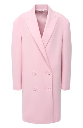 Женское шерстяное пальто GIVENCHY розового цвета, арт. BWC06W127Y   Фото 1