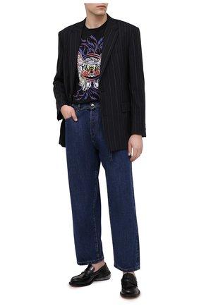 Мужские джинсы ACNE STUDIOS синего цвета, арт. C00019/M | Фото 2