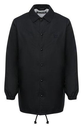 Мужская куртка ACNE STUDIOS черного цвета, арт. C90035/M | Фото 1