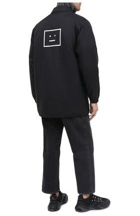Мужская куртка ACNE STUDIOS черного цвета, арт. C90035/M | Фото 2