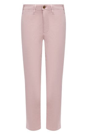 Женские хлопковые брюки CITIZENS OF HUMANITY розового цвета, арт. 1885-1180 | Фото 1