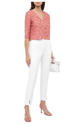 Женские брюки ST. JOHN белого цвета, арт. K84KW00 | Фото 2