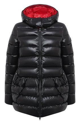Женский пуховая куртка VALENTINO черного цвета, арт. UB3CN0105LE | Фото 1