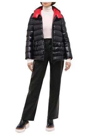 Женский пуховая куртка VALENTINO черного цвета, арт. UB3CN0105LE | Фото 2