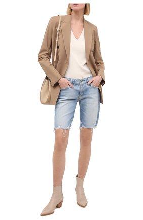 Женские джинсовые шорты AG голубого цвета, арт. JRN1604DS/23YSVG | Фото 2
