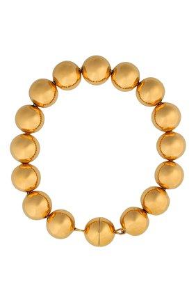 Женский браслет JIL SANDER золотого цвета, арт. JSPR832387/WRS80047 | Фото 1