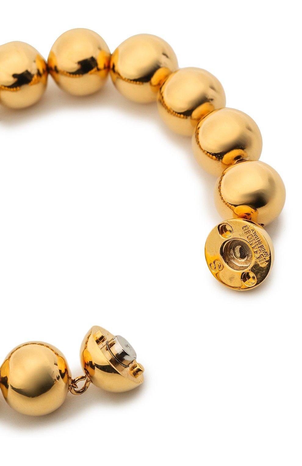 Женский браслет JIL SANDER золотого цвета, арт. JSPR832387/WRS80047 | Фото 2